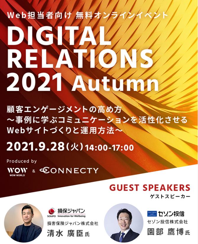 DIGITAL RELATIONS 2021 Autumn