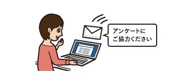 アンケート制作代行_メール配信