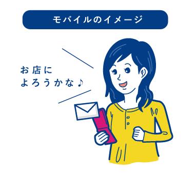 モバイルメールのイメージ