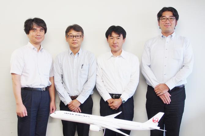 JALは安全管理を徹底するため、今後もWEBCASを使ってパイロット向けWebテストや『ヒヤリ・ハットアンケート』を実施していきます。
