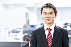 コンサルティング営業部 マネージャー 磯貝 浩貴 Hirotaka Isogai