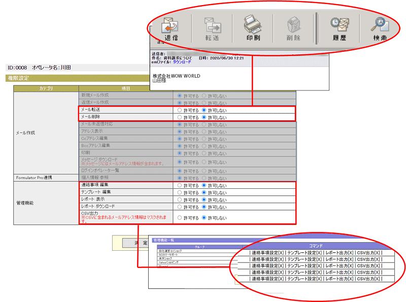 操作権限設定(2) (PC)