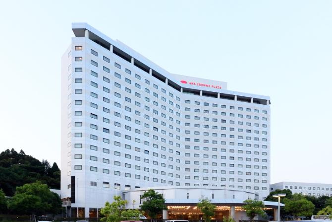 ANAクラウンプラザホテル成田外観