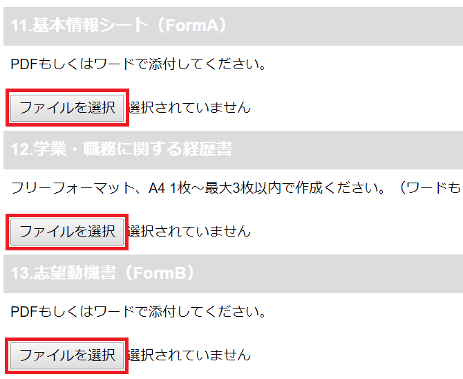 WEBCAS formulator ファイルアップロード機能