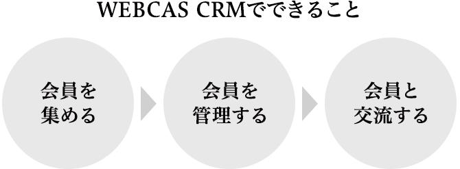 WEBCAS CRMでできること