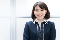 コンサルティング営業部 徳田 愛実 Manami Tokuta