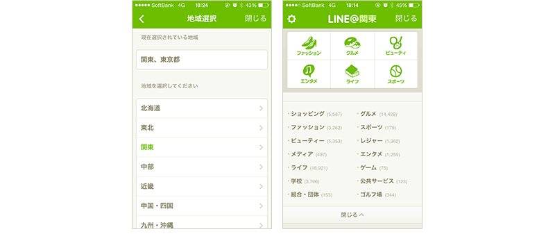 LINEのプラットフォーム