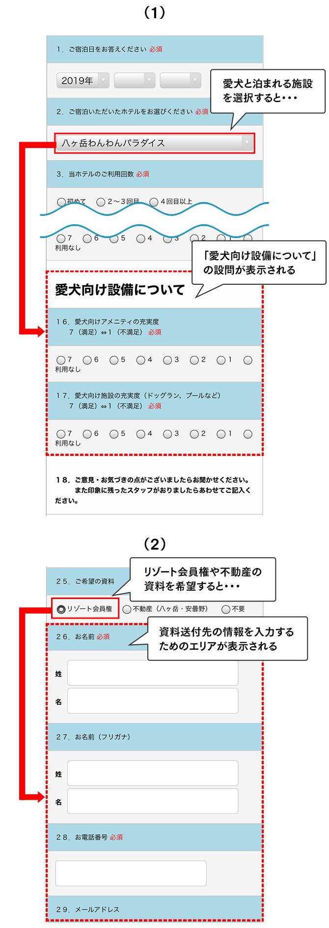条件分岐設定(SP版)