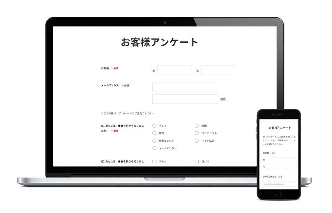 1. アンケート・フォーム作成システム「WEBCAS formulator」について